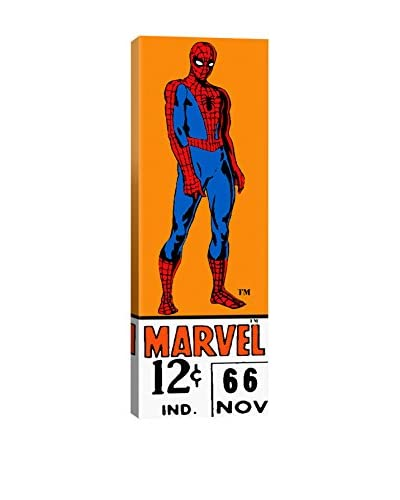iCanvas Art Retro Spider-Man Price Tag Panoramic By Marvel Comics Canvas Print