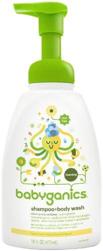 Babyganics Shampoo + Body Wash - Chamomile Verbena - 16 oz - 1