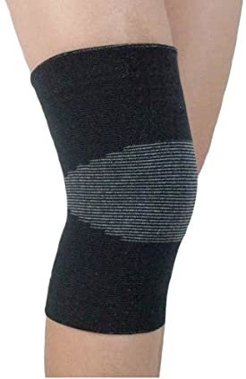 Milex Heat and Far Infrared Knee Support Soothe Your Painful, Aching Knee with Infrared Technology (Black)