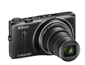 """Nikon Coolpix S9499 Appareil photo numérique compact 18,1 Mpix Ecran 3"""" Zoom optique 22x Noir"""