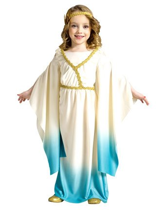 Athena Goddess Child Girls Costume