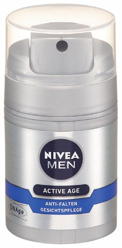Nivea Men Gesichtspflege DNAge Anti-Falten Gesichtscreme, 50 ml