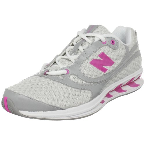 New Balance Women's WW850 True Balance Toning Shoe,Grey/Pink,10 B US