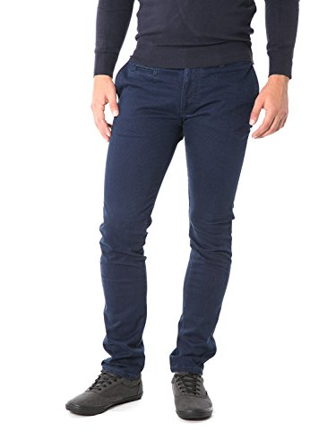 FIFTY FOUR - Pantaloni da uomo skinny fit attic g537 w30 blu