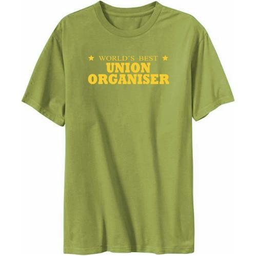 World's Best Union Organiser Mens T-shirt