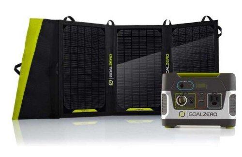 Goal Zero Yeti 150 Solar Generator Kit With Nomad 20 Solar Panel