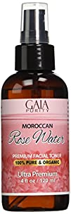 PURE Rose Water, Large 4oz (Moroccan)…