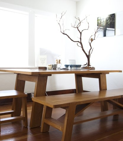 Muir Reclaimed Wood Dining Table
