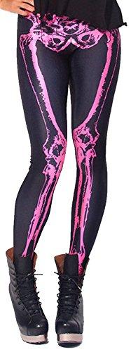 DQdq-Womens-Skeleton-Zombie-Digital-Printing-Leggings