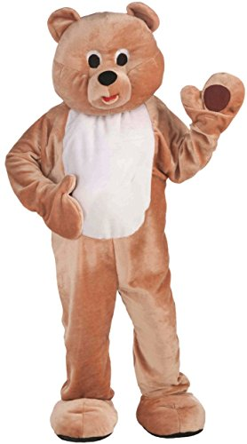 Forum Novelties Men's Honey Teddy Bear Plush Mascot Costume Funny Animal