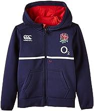 Canterbury Kids England Training Full Zip Hoody - Blue, 14 years