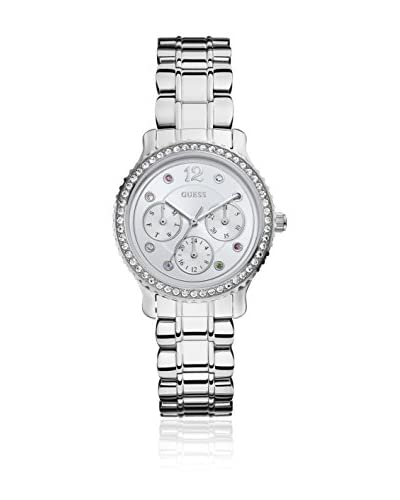 Guess Reloj de cuarzo Woman W0305L1 Plateado 34.5 mm