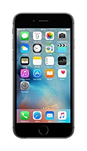 Apple iPhone 6s Smartphone (11,9 cm (4,7 Zoll) Display, 64GB interner Speicher, IOS) grey