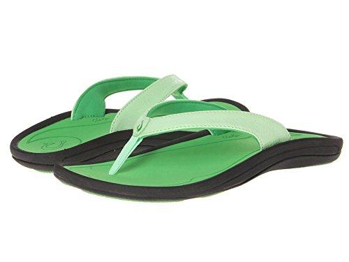 Olukai Women'S Kulapa Kai W Mint/Sour Tart Sandal 8 B - Medium