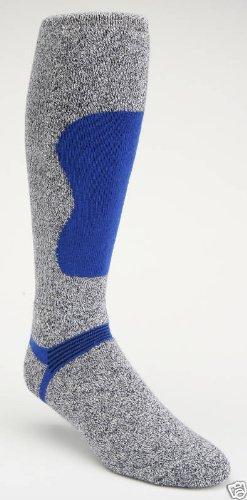 Winter Sock- J.B. Field'S Ski & Snow Ii Sock (Women'S, Navy Body With Gold)