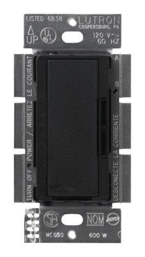 Lutron Msc-600M-Mn Maestro 600-Watt Multi-Location Dimmer Midnight