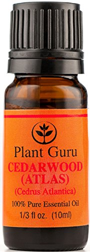Cedarwood (Atlas) Essential Oil. 10 Ml. 100% Pure, Undiluted, Therapeutic Grade.
