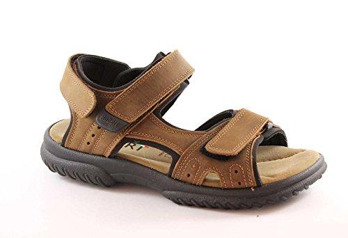 ROBERT 87500 testa moro sandali uomo strappi comfort mabuk 41