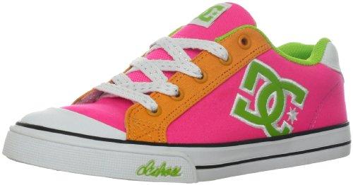 Dc Chelsea Canvas Skate Sneaker (Little Kid/Big Kid),Hot Pink,12 M Us Little Kid front-576932