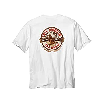 Tommy bahama tail waggin tap room t shirt white for Custom tommy bahama shirts
