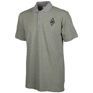 Kappa Polo Shirt BMG Unbranded Short Sleeve, Grey Melange, XXL, 434908