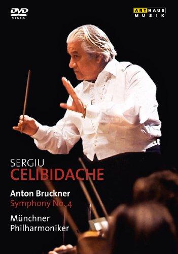Bruckner: Symphony No.4 (Herkulessaal Munich 1983) (Arthaus: 101645) (Münchner Philharmoniker/ Sergiu Celibidache) [DVD] [NTSC]