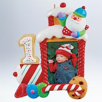 Hallmark Keepsake Ornament 2011 My First Christmas - Photo Holder - #QXG4409 - 1