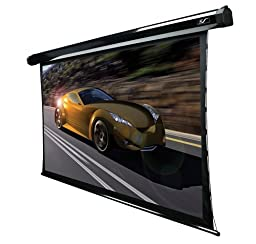 Elite Screens CineTension2, 84-inch 16:9, Tab-Tensioned High Gain Electric Projection Projector Screen, TE84HG2