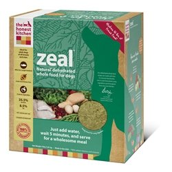 Honest Kitchen Zeal, Grain-Free Dehydrated Raw Dog Food w/ Wild-Caught White Fish, 4lb by The Honest Kitchen