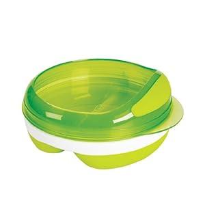 OXO Tot Divided Feeding Dish, Green