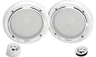 Sony Xsmp1650W 6.5-Inch Marine Component Speaker System