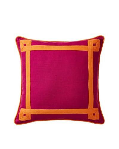 Happy Chic by Jonathan Adler Katie Color Plus Decorative Pillow, Pink/Orange