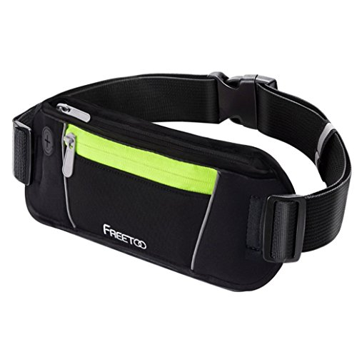 Freetoo Running Belt Workout Fanny Pack Running Bag Waist Pack for iphone 6s Plus/6 Plus/6s/6,galaxy S5,s6,note 4/5 (Waist Pack Running compare prices)