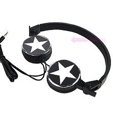 buy Stylish Snow Star Headphone - Black