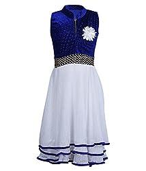 Addyvero International Klein Blue Girls Halter Dress