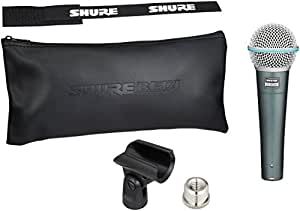 shure beta 58a supercardioid dynamic microphone with high output neodymium element. Black Bedroom Furniture Sets. Home Design Ideas