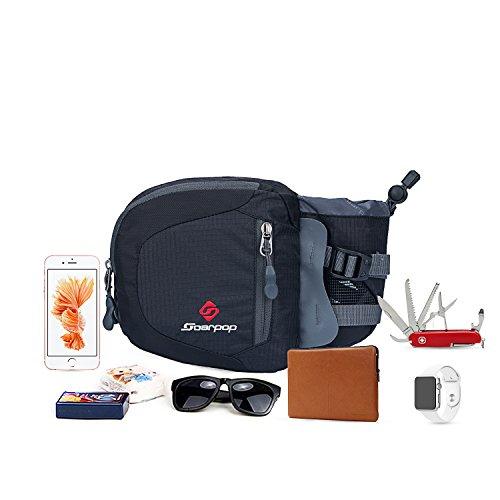 soarpop-bb4351mgy-della-tasca-del-doppio-portamonete-casual-cartella-nero