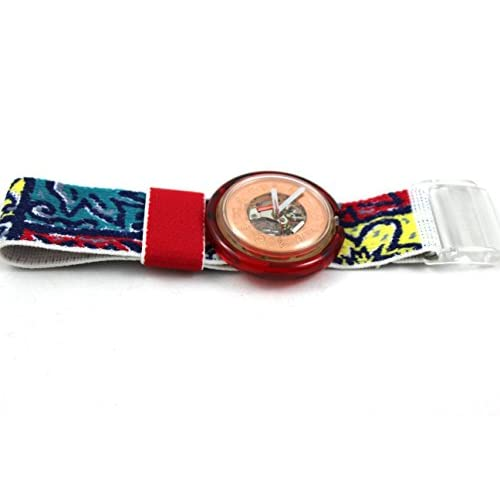 1991 Rare Vintage Swatch Watch Pop Provencal PWK137