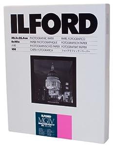 Ilford Multigrade IVRC Gloss Deluxe 20.3x25.4cm (8x10in) 100 Sheets