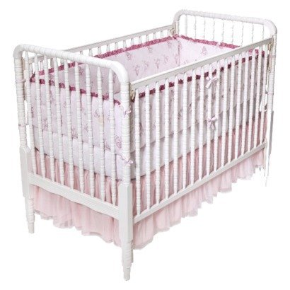 Simply Shabby Chic Ballerina 3 Piece Crib Set - 1