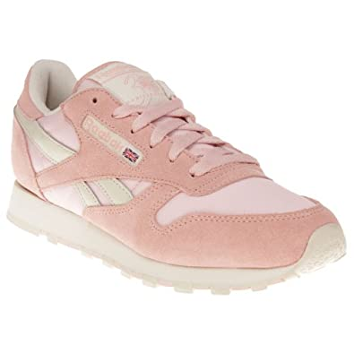 Reebok Pink Leather