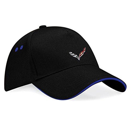 chevrolet-corvette-logo-gm-bestickte-baseball-cap-mutze-k74-schwarz-blau