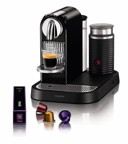 Nespresso CitiZ and Milk by Magimix M190 Coffee Machine, Limousine Black