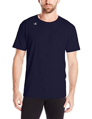Champion Men's Vapor Cotton Short Sleeve Tee, Team Navy, X-Large