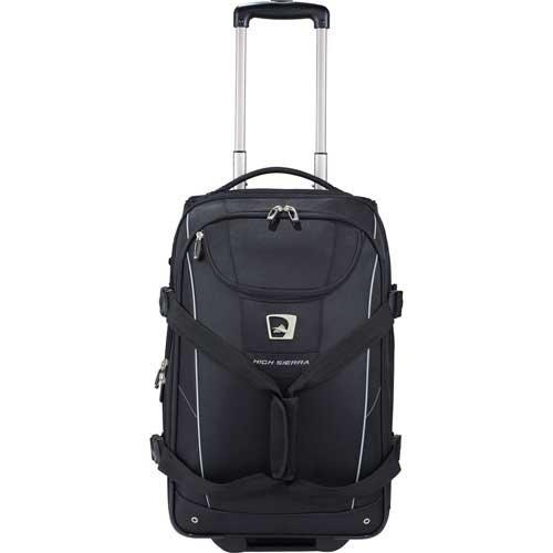 Buy High Sierra® Elite Carry-On Wheeled Duffel - Black by High Sierra
