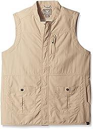 White Sierra Men\'s Traveler Vest, XX-Large, Khaki