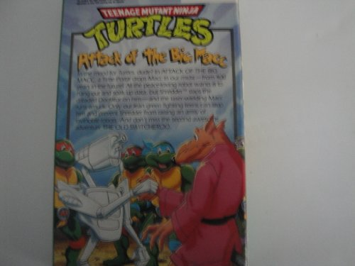 Teenage Mutant Ninja Turtles: Attack of the Big Macc [VHS] - 1