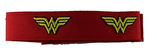 Application DC Comics Wonder Woman Logo Fabric Wristband