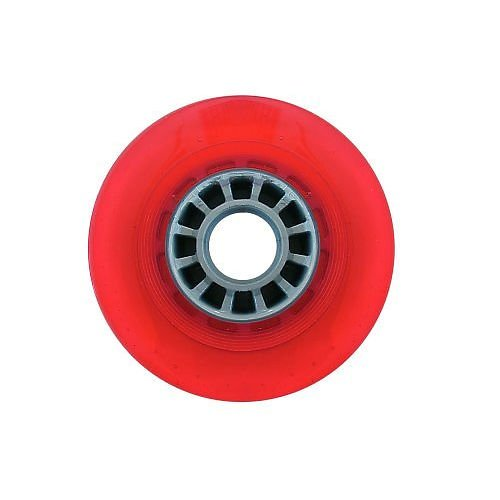 Razor Set of 2 Wheels with Bearings: (6102A Red)