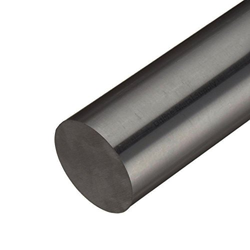 C1018 Cold Finished Steel Round Rod - Bar 3/8 inch diameter x 48 inches long (3 Pack) (Carbon Steel Round Rod compare prices)